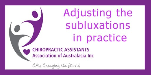 Adjusting the subluxations practice