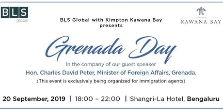 Grenada day with Kimpton Kawana Bay (@ Bengaluru - for immigration agents only) tickets