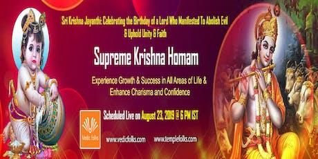 Krishna Jayanthi 2019 Special Rituals tickets