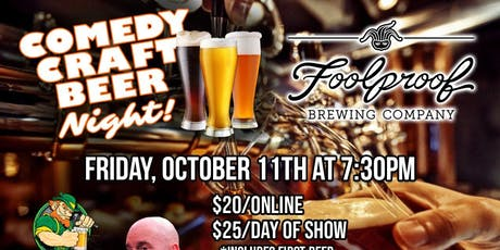 Foolproof Comedy Night tickets