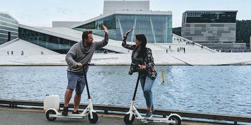 E-Scooter Oslo City Tour