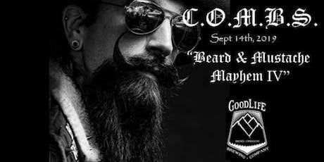C.O.M.B.S. 4th Annual Beard Mayhem tickets