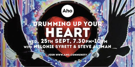 Drumming up your Heart with Melonie Syrett & Steve Altman tickets