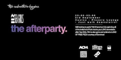 Sea Girls Afterparty: DJs & FREE PIZZA tickets