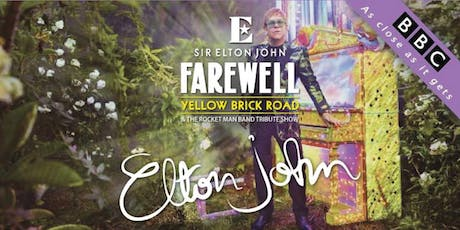 Sir Elton John - Jimmy Love's Fairwell Tribute Show tickets