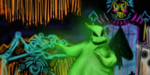 Oogie Boogie Glow Party