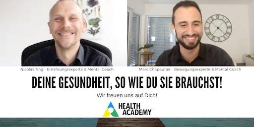 Dein gesundes Leben - Das Geheimnis eines gesunden & glücklichen Lebens!
