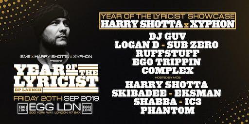 Fridays at EGG: Harry Shotta x Xyphon: Year of the Lyricist Showcase