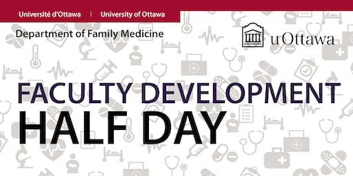 FALL 2019 Faculty Development Half-Day