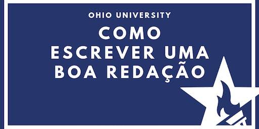 Como escrever uma boa redação com Ohio University