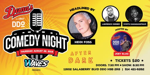 Comedy Night at Dunn's DDO Headlined by Heidi Foss