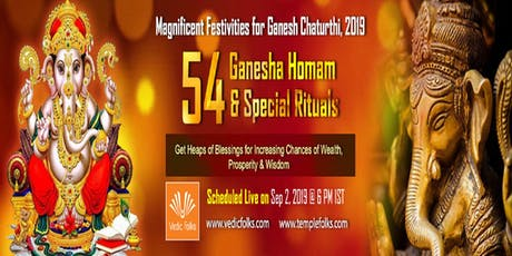 Ganesh Chaturthi 2019 Special Rituals tickets