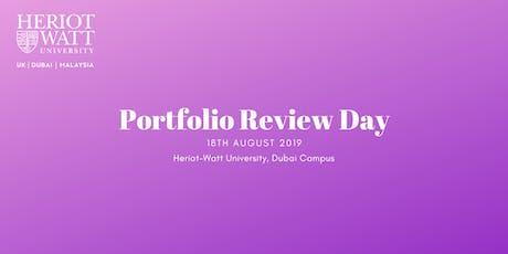Portfolio Review Day tickets