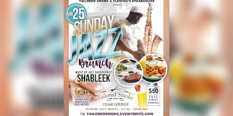 Fleming's Steakhouse Jazz Brunch at Tailored Smoke tickets