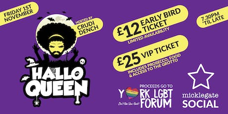 HalloQueen - Spooktacular Show & Party tickets