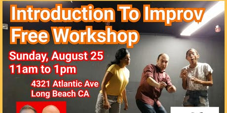 Intro to Improv Comedy Free Workshop tickets