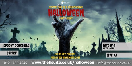 Spooktacular Halloween Party Night 2019 tickets