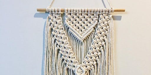 Knots'n'Hops™ Macramé Wall Hanger with Beer at Milton