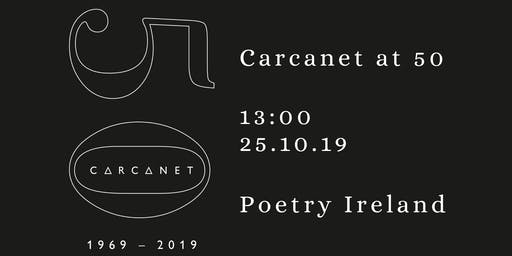 Carcanet at 50 - Afternoon Symposium