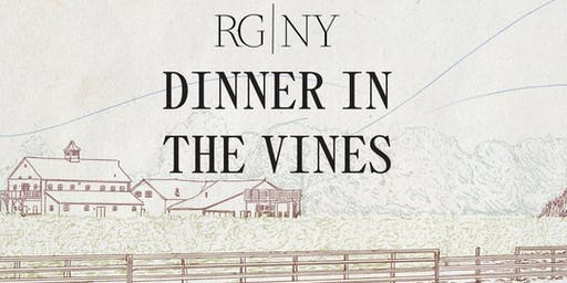 Dinner in the Vines at RG|NY