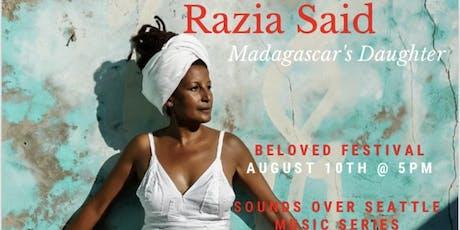 Razia Said from Madagascar tickets