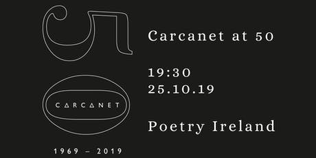 Carcanet at 50 - Evening Readings tickets