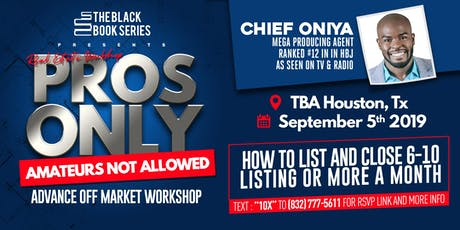 Pros Only: Amateurs Not Allowed With Mega Producing Agent Chief Oniya tickets