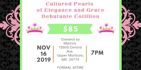 Cultured Pearls of Elegance and Grace Debutante Cotillion  tickets
