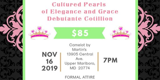 Cultured Pearls of Elegance and Grace Debutante Cotillion