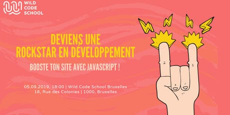 INTRO JAVASCRIPT - Comment construire ta première application Web ?  tickets