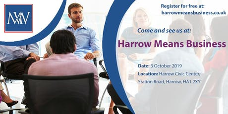 Harrow Means Business tickets