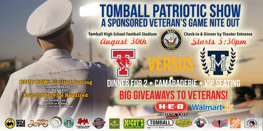 2019 Veterans Game Nite Out and Patriotic Show