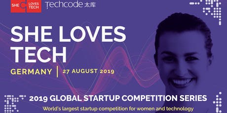 She Loves Tech - Global Pitch Competition - Germany Round @TechCode Tickets