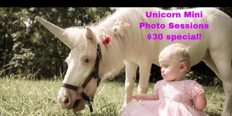Unicorn & Baby Goat Mini Photo Sessions! tickets