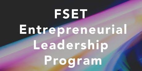 FSET Entrepreneurial Leadership Program tickets