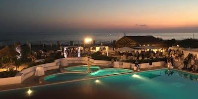 Ferragosto Sunset Dinner nel Contemporary Beach di Maccarese!