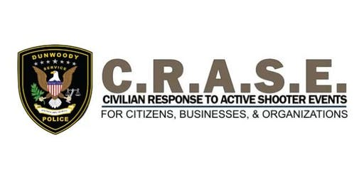 Civilian Response to Active Shooter Events (C.R.A.S.E.) Course