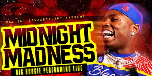 Midnight Madness With Big Boogie Performing Live