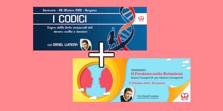 I CODICI + PERDONO NELLE RELAZIONI biglietti