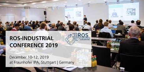 ROS-Industrial Conference 2019 Tickets