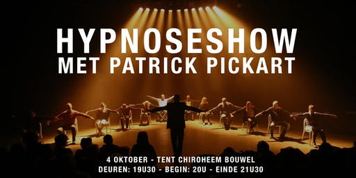 Hypnoseshow met Patrick Pickart