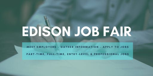 Edison Job Fair - September 10, 2019 Job Fairs & Hiring Events in Edison NJ