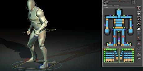 Workshop | Animation d'un personnage en 3D tickets
