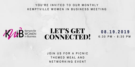 Monthly Kemptville Women In Business Meeting