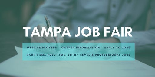Tampa Job Fair - September 10, 2019 Job Fairs & Hiring Events in Tampa FL