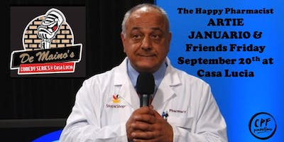 DEMAINO'S COMEDY SERIES at Casa Lucia Presents ARTIE JANUARIO & Friends
