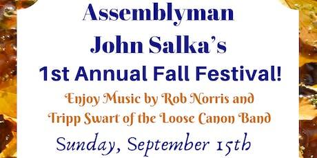 Assemblyman John Salka's 1st Annual Fall Festival tickets