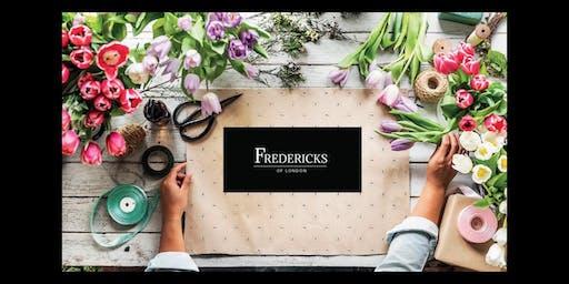 Flower Handtied Workshop 28th Sept 2019
