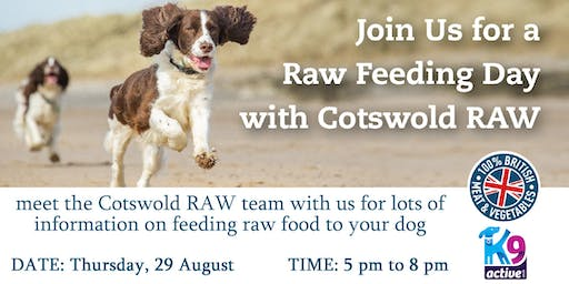 A culinary Experience with Cotswold RAW for your Dog