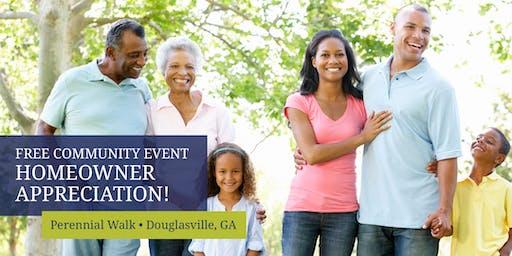 Perennial Walk Homeowner Appreciation Celebration